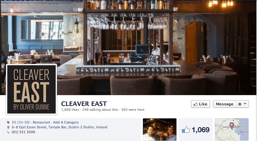 facebook marketing restaurants
