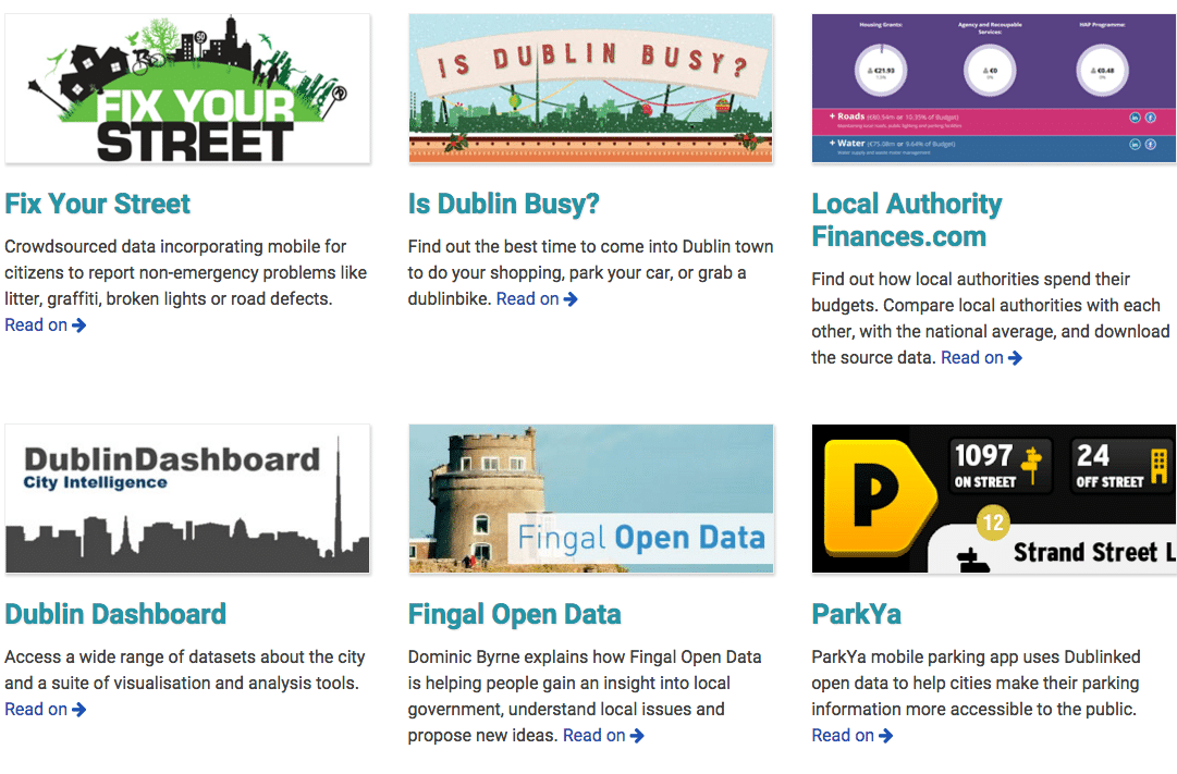 open data stories