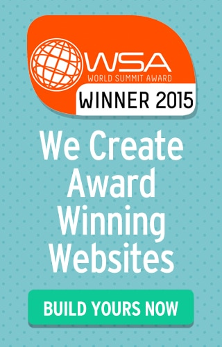 We create award winning websites
