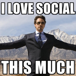 MY WHOLE LIFE IS SPENT ON SOCIAL. Facebook and Twitter are my only friends.