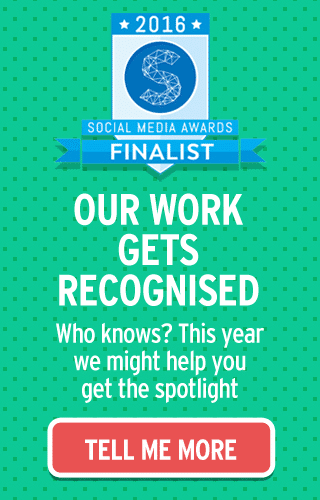 Awards 2016 Finalist Social Media