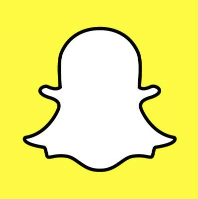 Snapchat Ghost logo teens