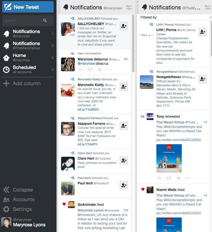 Tweetdeck: A How To Guide - Brightspark Consulting