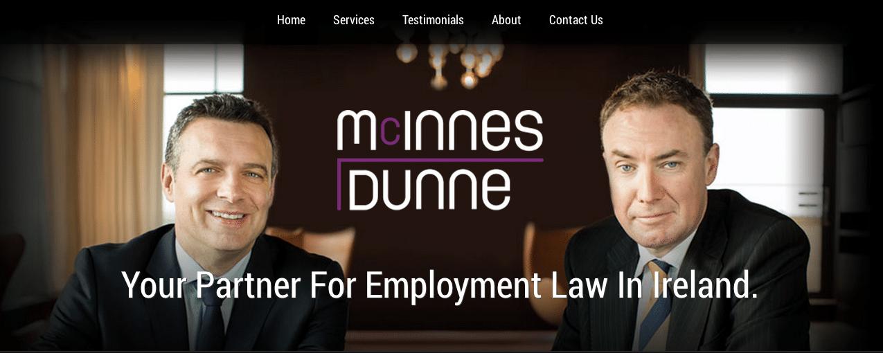 mcinnesdunneemploymentlawireland