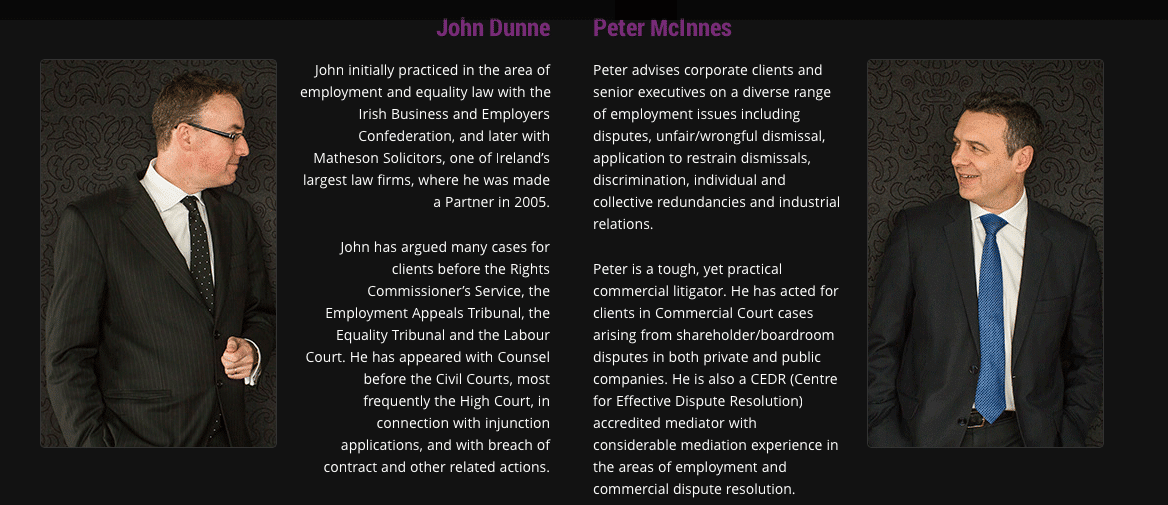 mcinnes dunne employment law ireland