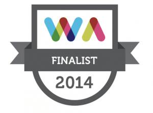 irish web awards 2014 finalist
