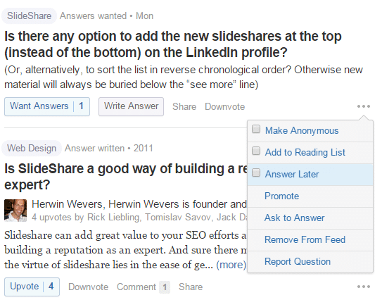 quora b2b content marketing