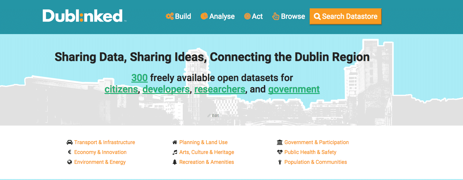 dublinked new home page