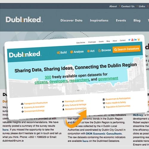 new dublinked site