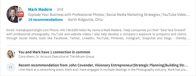 linked in pro finder