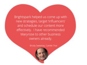 Brightspark Social Media Mentor