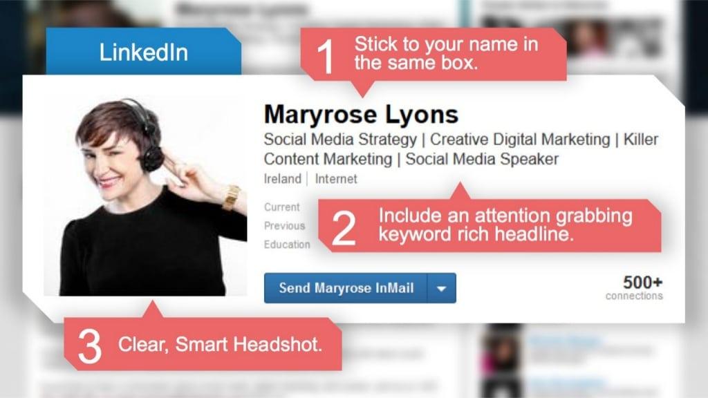 best linkedin profile advice