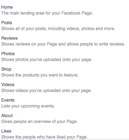 Facebook Shop Templates
