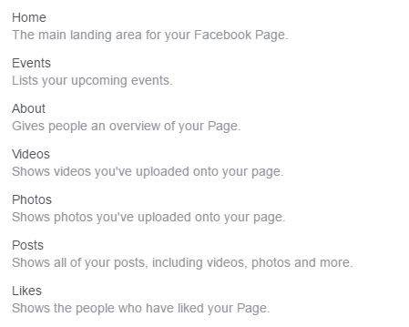 Facebook Venues Template