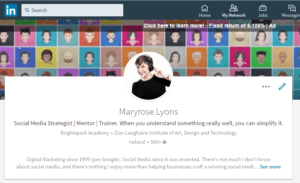 New LinkedIn Profile Design