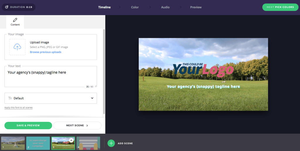 biteable video editor