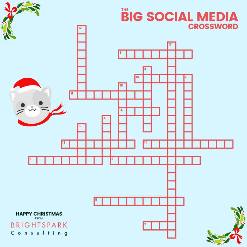 The Big Social Media Crossword Puzzle - Brightspark Consulting