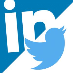 LinkedIn & Twitter. B2B all the way baby!