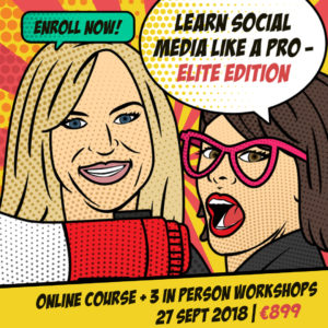 learn social media blended learning