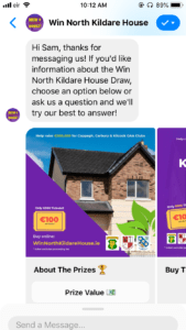 win north kildare house bot