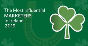 top 50 marketers ireland award